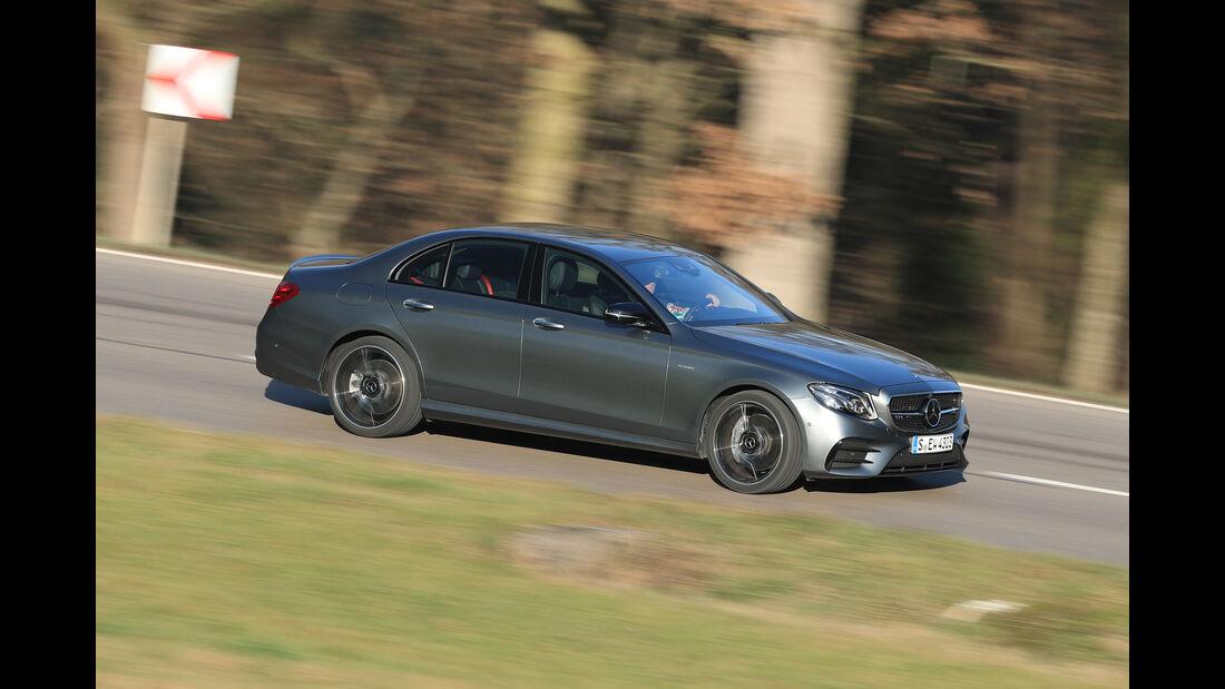 Mercedes-AMG E 43 4Matic, Seitenansicht
