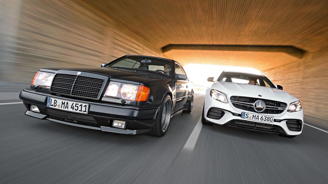 Mercedes-AMG E 63 S 4Matic+, Mercedes 300 CE 6.0-32V AMG, Front