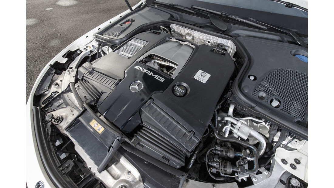 Mercedes-AMG E 63 S 4Matic+, Motor