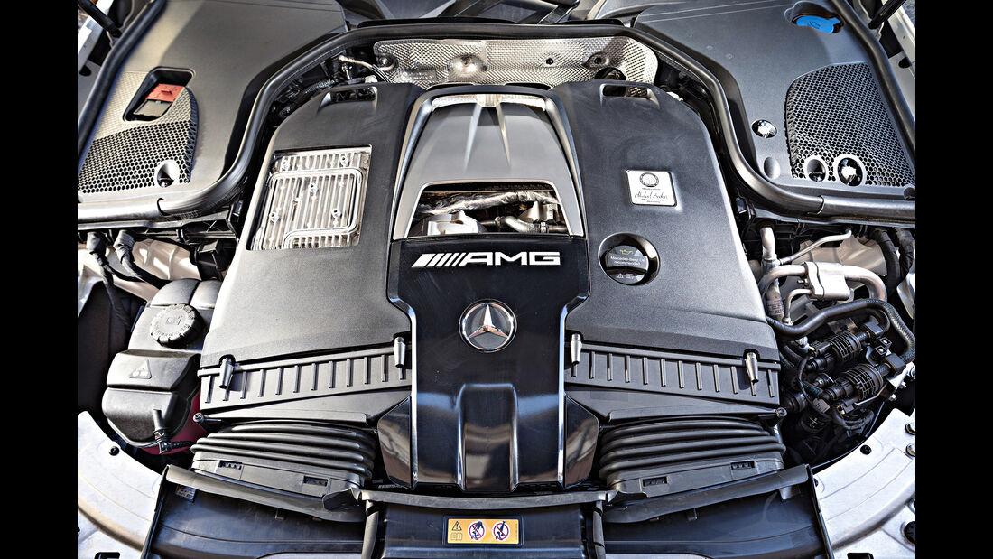 Mercedes-AMG E 63 S T-Modell, Motor