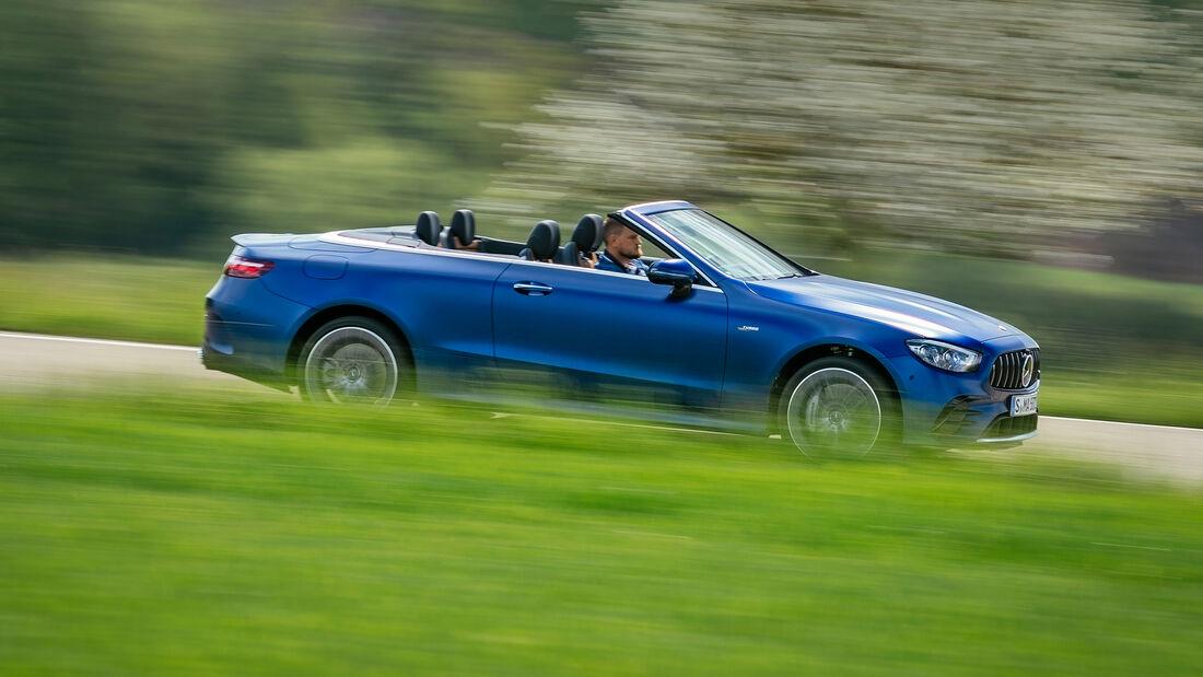 Mercedes-AMG E53 Cabrio, Exterieur