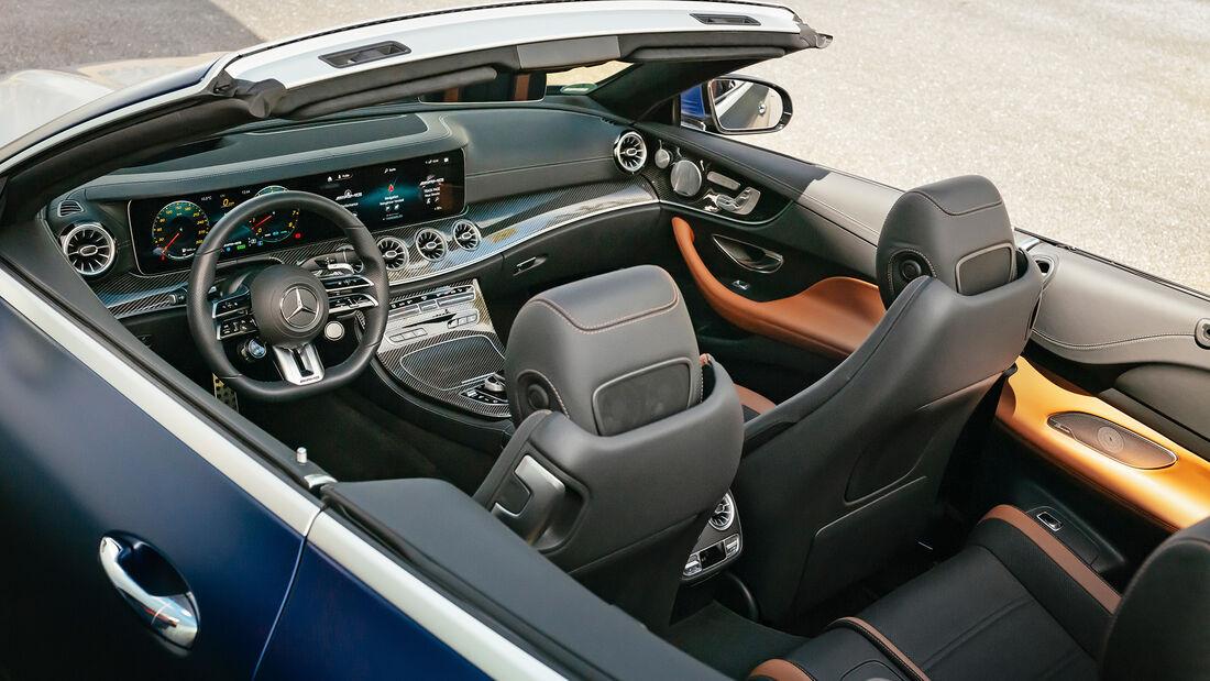 Mercedes-AMG E53 Cabrio, Interieur