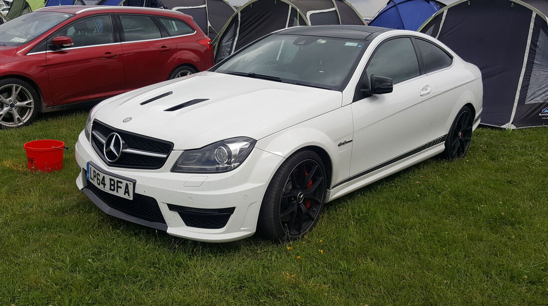 Mercedes-AMG E63 - Carspotting - 24h-Rennen Le Mans 2016