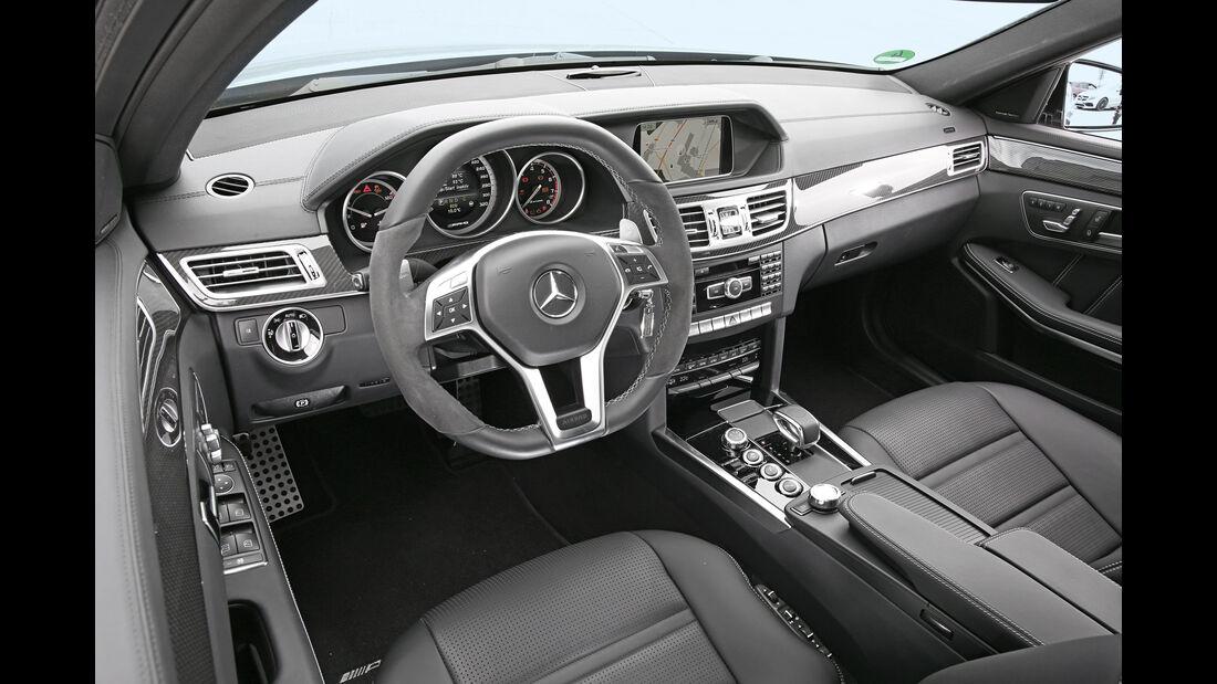 Mercedes-AMG E63 S, Cockpit