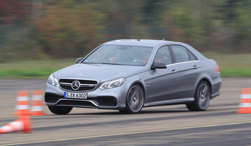 Mercedes-AMG E63 S, Frontansicht