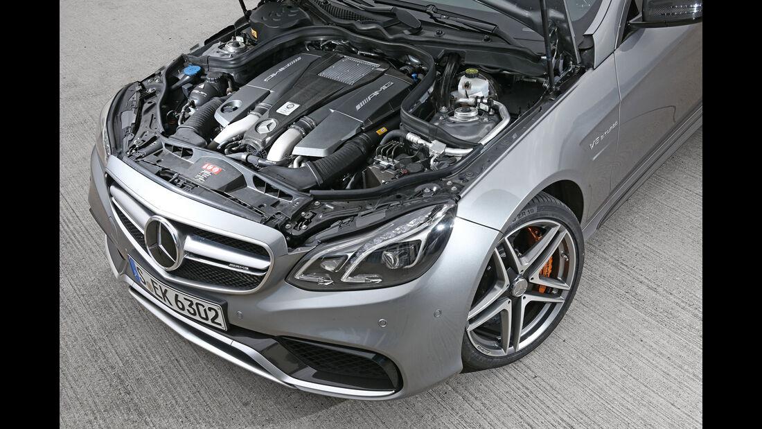 Mercedes-AMG E63 S, Motor