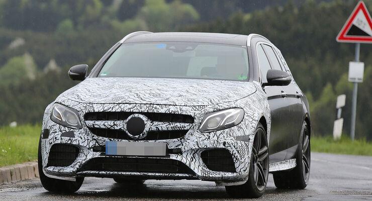 Mercedes-AMG E63 T-Modell Erlkönig