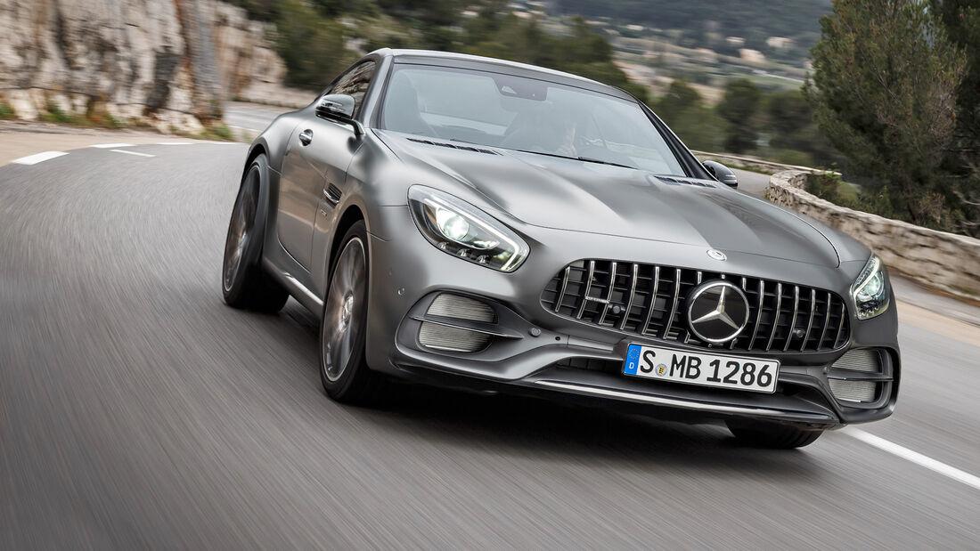 Mercedes-AMG Einsteigermodell SLC Ersatz Rendering Fake
