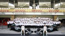 Mercedes AMG F1 - Teamfoto - GP Abu Dhabi 2016 - Formel 1