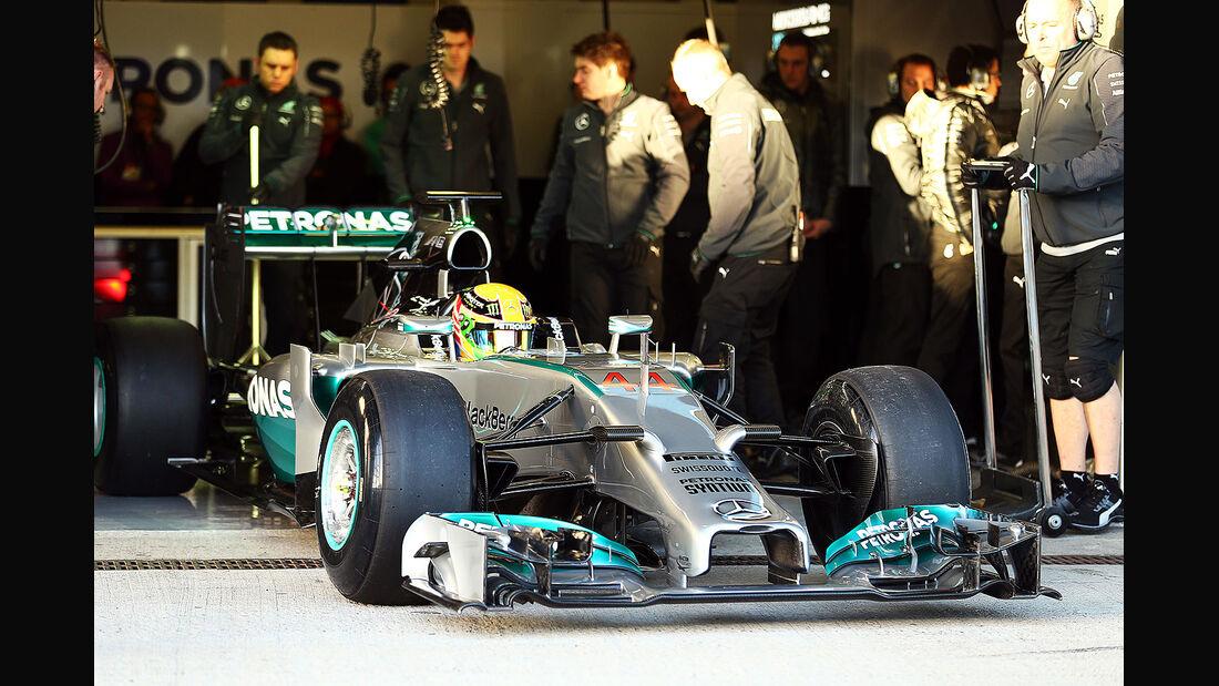 Mercedes AMG F1 W05 - Präsentation Jerez 2014