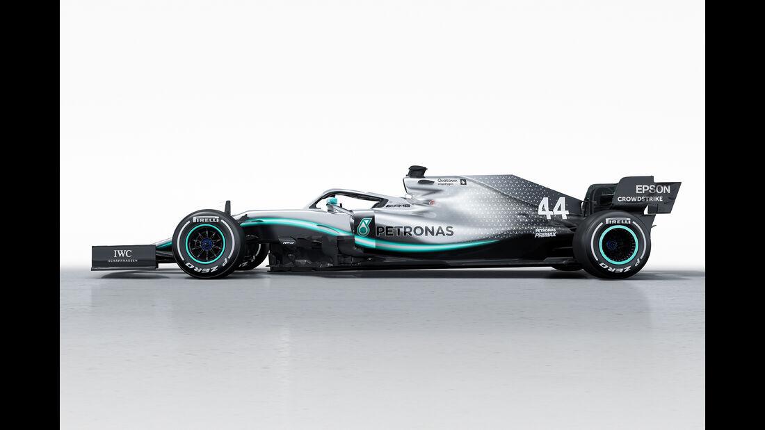 Mercedes AMG F1 W10 - F1-Auto 2019