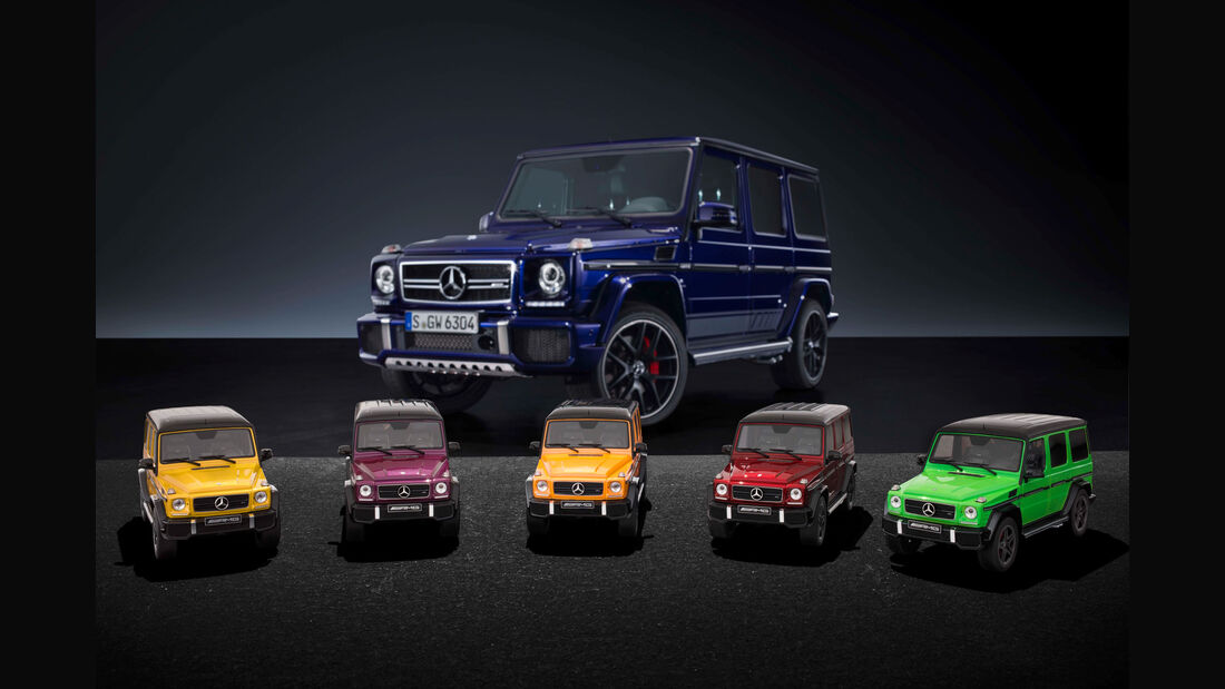 "Mercedes-AMG G 63 - Modellauto-Serie - ""Crazy Colors"""