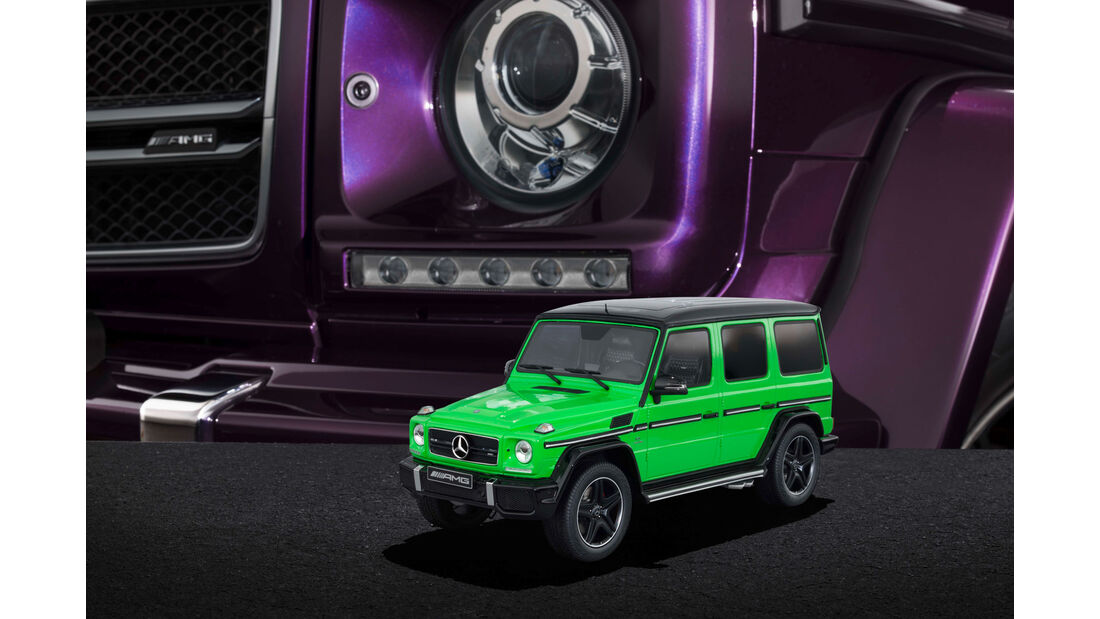 "Mercedes-AMG G 63 - Modellauto-Serie - ""Crazy Colors"" - aliengreen"