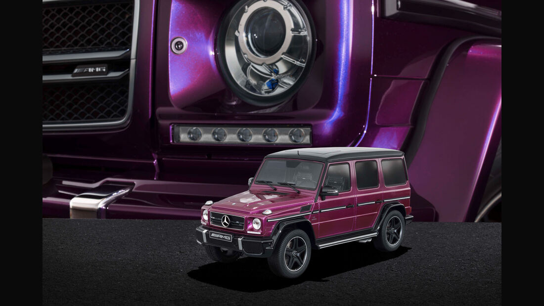 """Mercedes-AMG G 63 - Modellauto-Serie - """"Crazy Colors"""" - galacticbeam"""