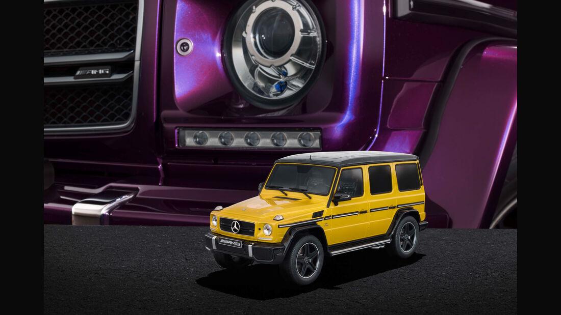 "Mercedes-AMG G 63 - Modellauto-Serie - ""Crazy Colors"" - solarbeam"