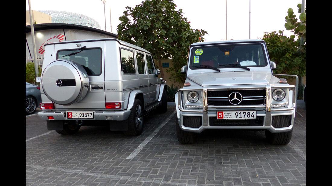 Mercedes AMG G63 - F1 Abu Dhabi 2014 - Carspotting