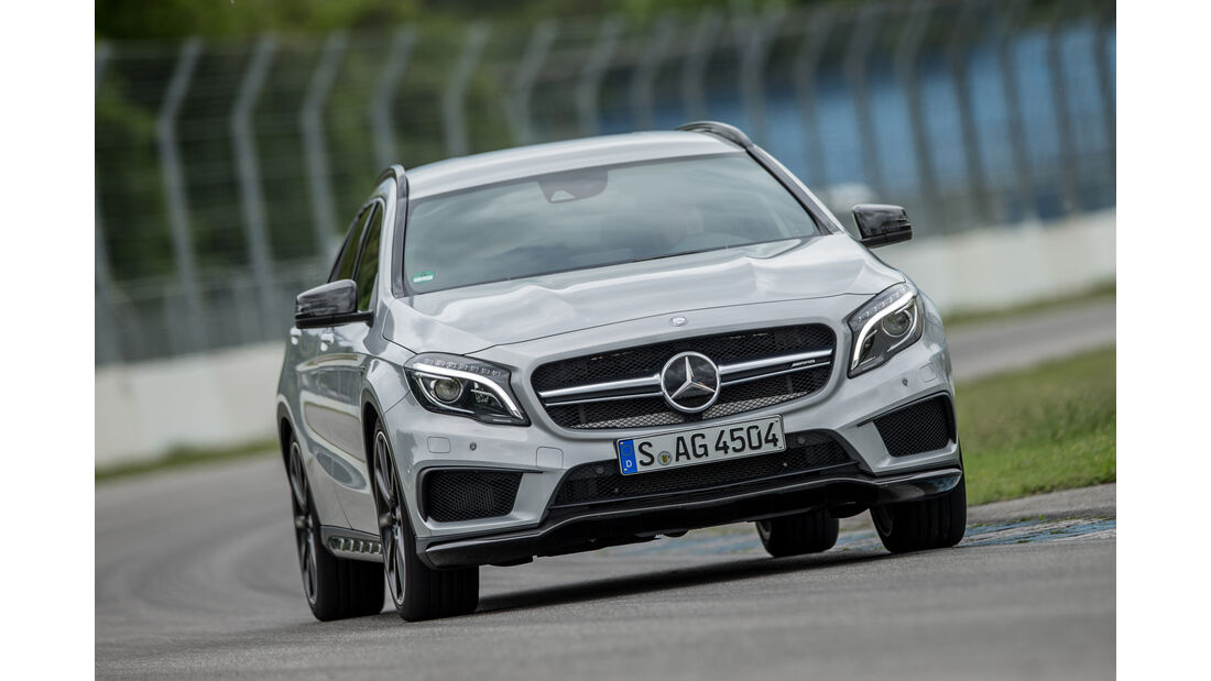 Mercedes-AMG GLA 45 4Matic, Frontansicht