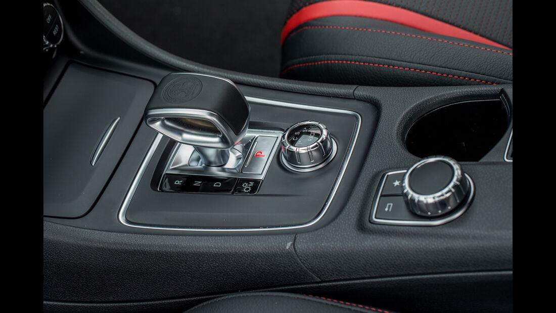 Mercedes-AMG GLA 45 4Matic, Schaltung