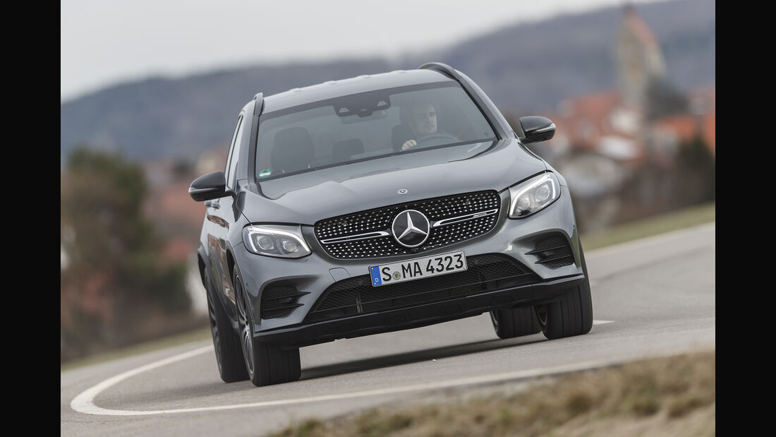 Mercedes-AMG GLC 43 4Matic, Exterieur, Front