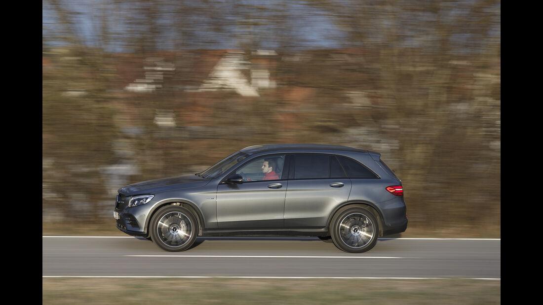 Mercedes-AMG GLC 43 4Matic, Exterieur, Seite