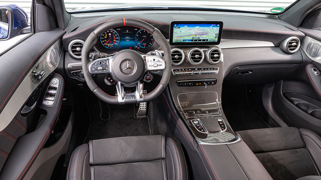 Mercedes AMG GLC 43 4Matic, Interieur