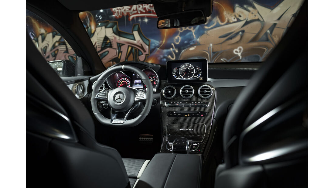 Mercedes-AMG GLC 63 S Coupe?, Interieur