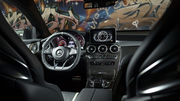 Mercedes-AMG GLC 63 S Coupe?, Interieur