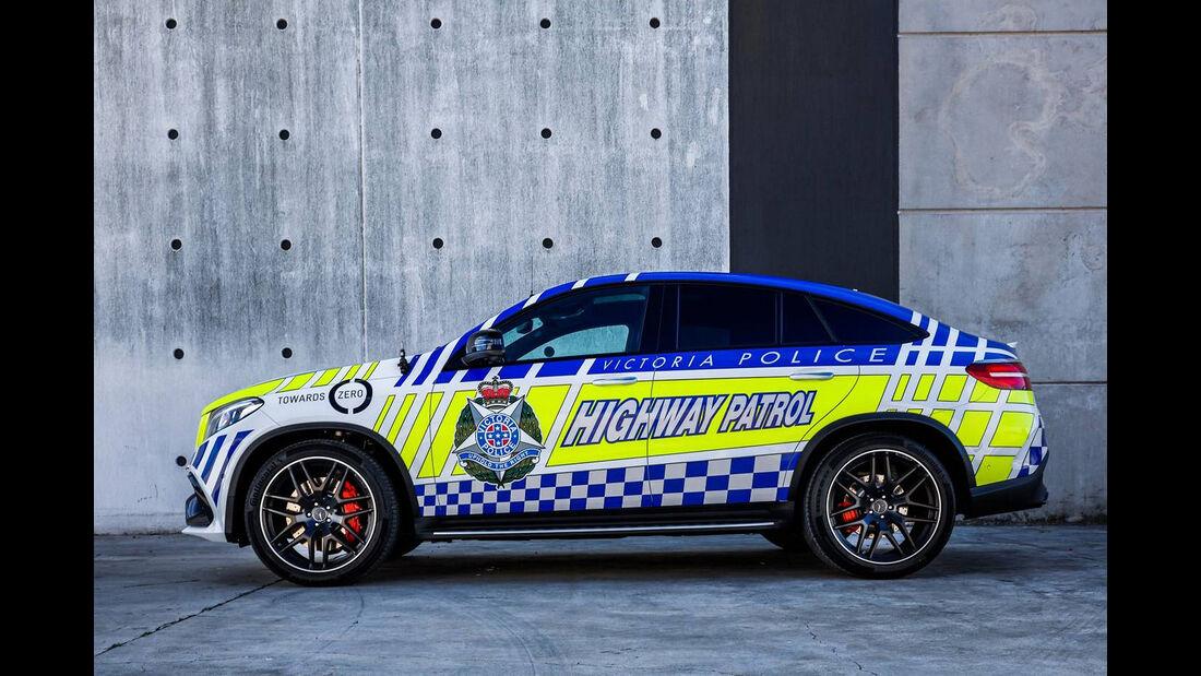 Mercedes-AMG GLE 63 S Coupé Police