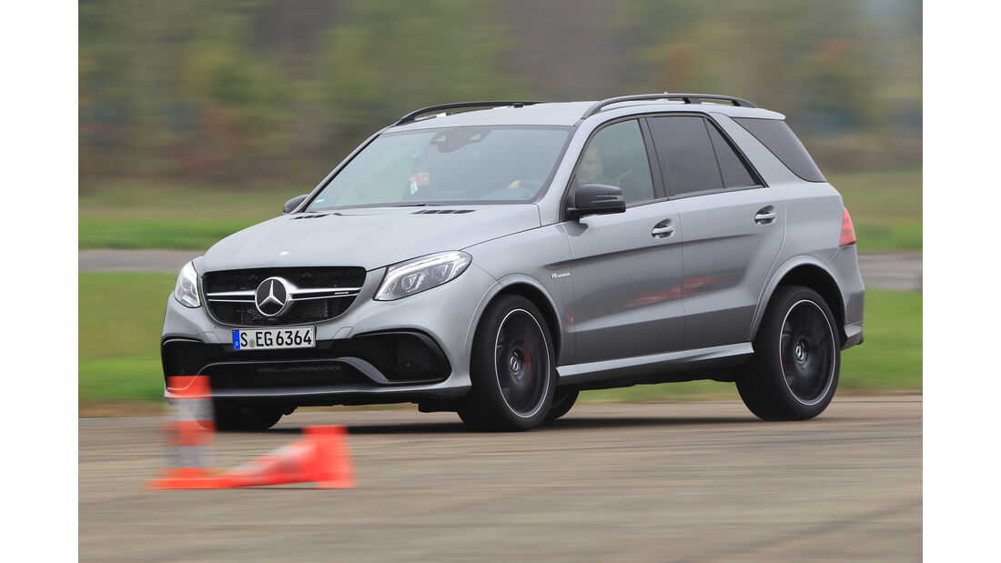Mercedes-AMG GLE 63 S, Frontansicht