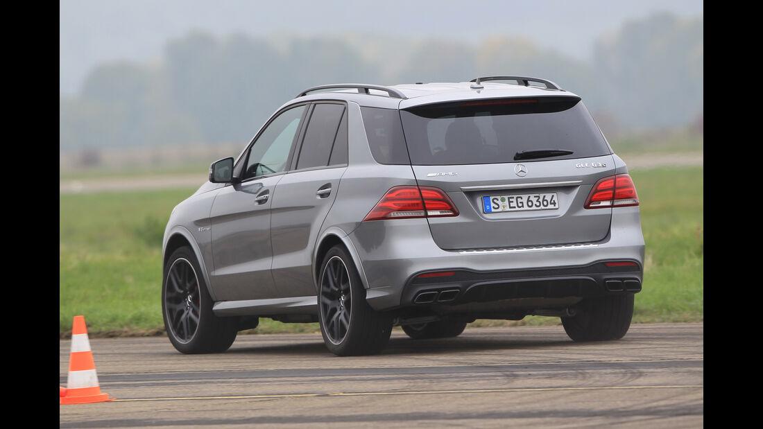 Mercedes-AMG GLE 63 S, Heckansicht