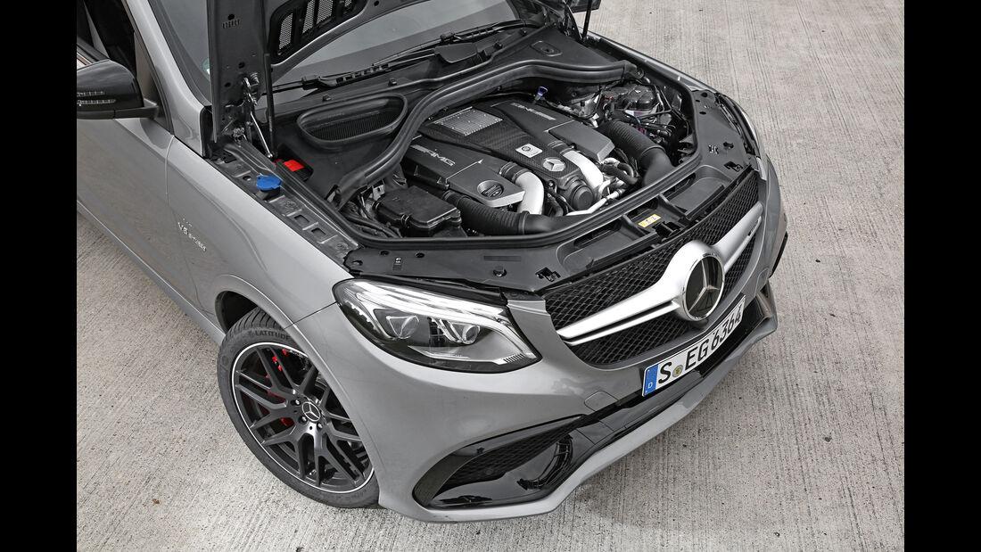Mercedes-AMG GLE 63 S, Motor