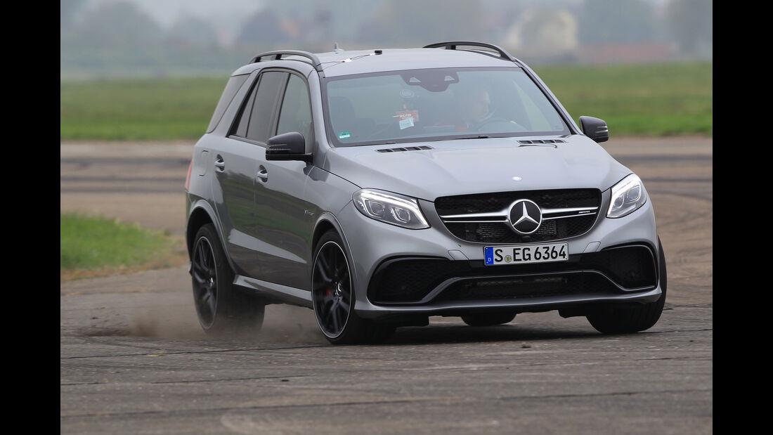 Mercedes-AMG GLE 63 S, Seitenansicht