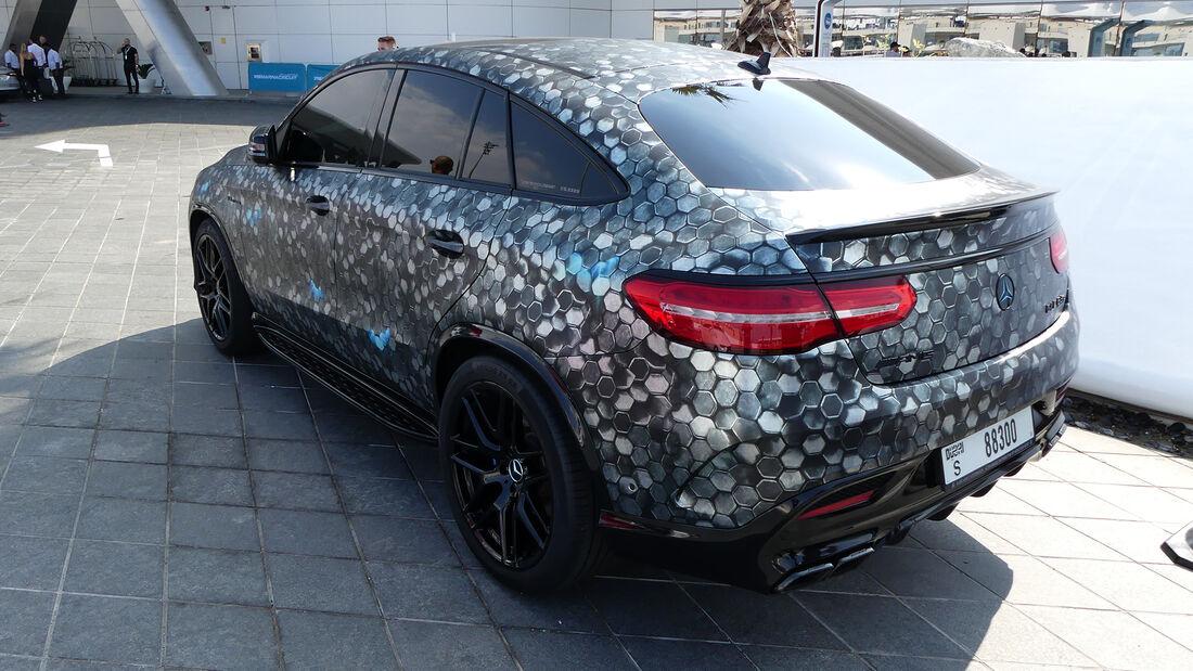 Mercedes-AMG GLE 63S - Carspotting - GP Abu Dhabi 2019