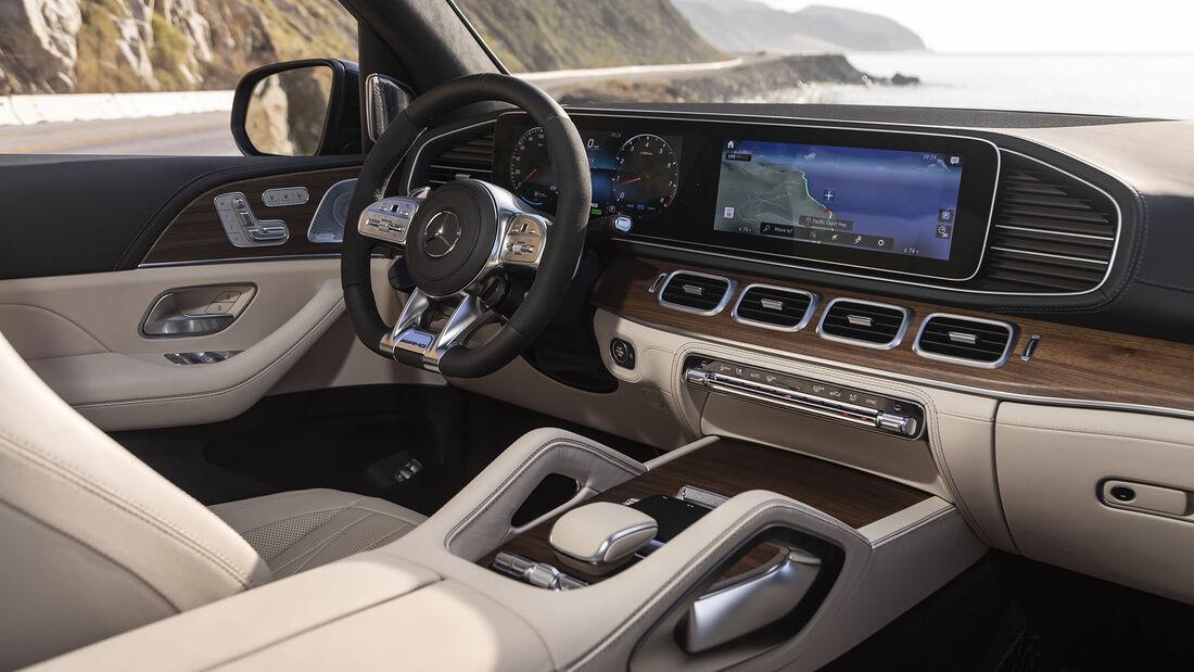Mercedes-AMG GLS 63 4MATIC+, Interieur