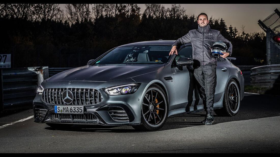 Mercedes AMG GT 63 S Rekord Nordschleife