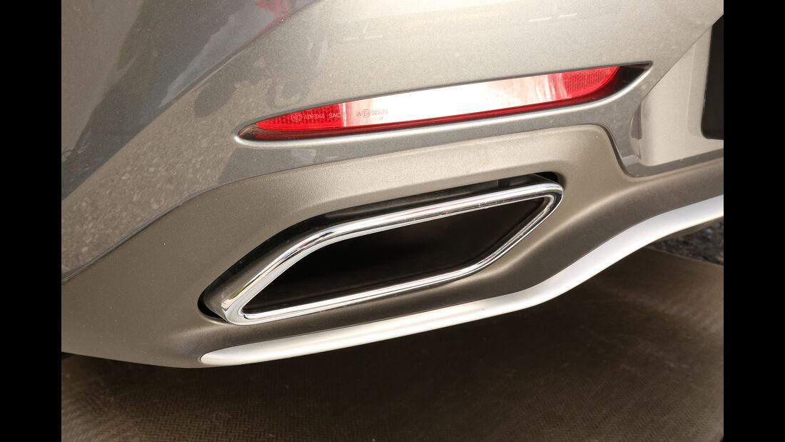 Mercedes-AMG GT, Auspuff, Endrohr