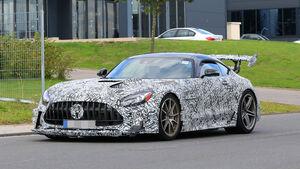 Mercedes AMG GT Black Series Evo R Erlkönig