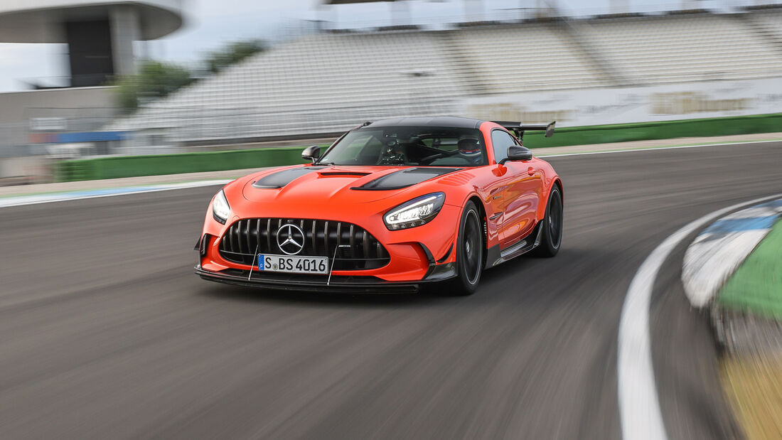 Mercedes-AMG GT Black Series, Hockenheimring