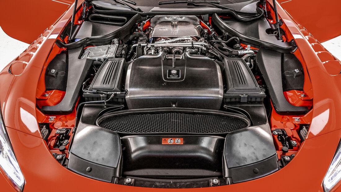 Mercedes-AMG GT Black Series, Motor