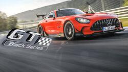 Mercedes AMG GT Black Series Supertest spa 08/2021