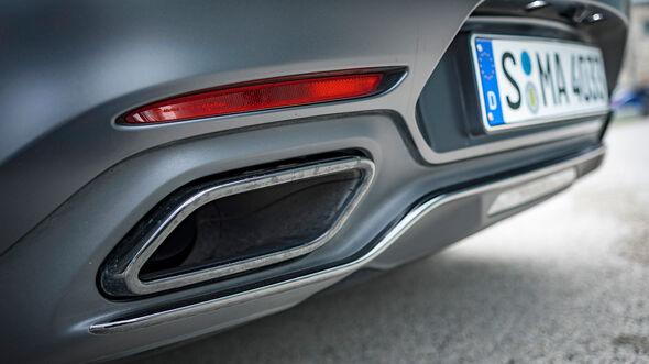 Mercedes-AMG GT C Edition 50, Exterieur