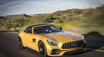 Mercedes-AMG GT C Roadster, Cabrio, Fahrbericht