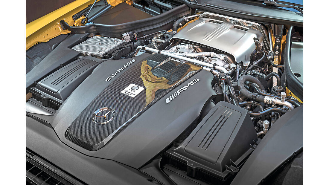 Mercedes-AMG GT C Roadster Motor
