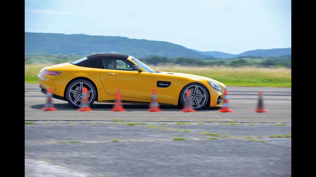 Mercedes-AMG GT C Roadster Seite