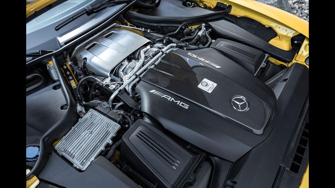 Mercedes-AMG GT C Roadster - Sportwagen - Biturbo-V8 - Test