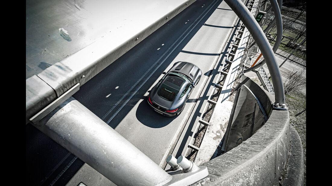 Mercedes-AMG GT C - Sportwagen - sport auto 10/2018