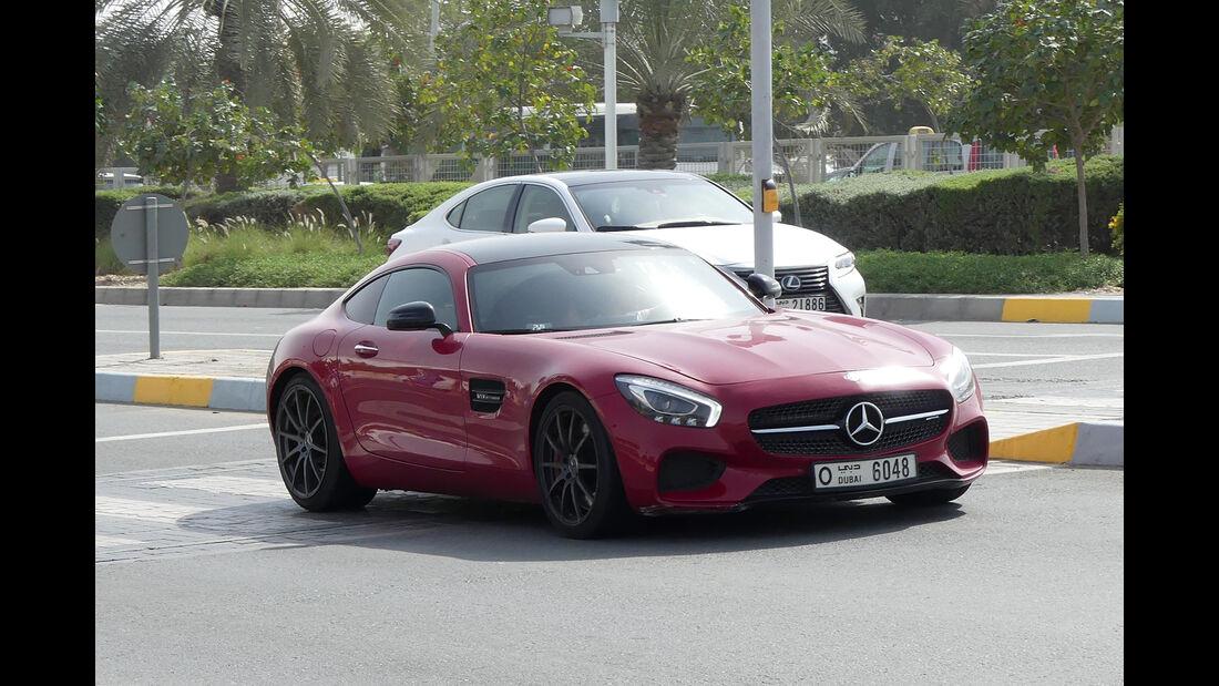 Mercedes AMG GT - Carspotting - GP Abu Dhabi 2018