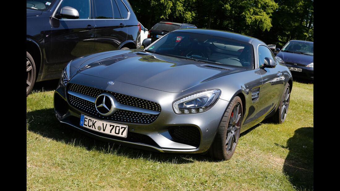 Mercedes-AMG GT - Fan-Autos - 24h-Rennen Nürburgring 2017 - Nordschleife