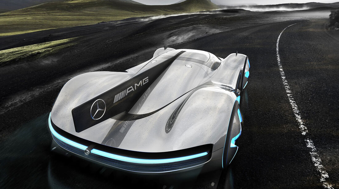 Mercedes-AMG GT Future Concept - Alex Imnadze - Hypercar - Design - Entwurf