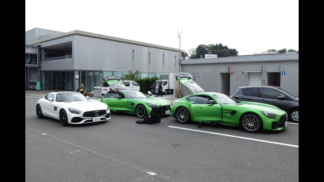 Mercedes-AMG GT - GP Japan - Suzuka - Mittwoch - 3.10.2018